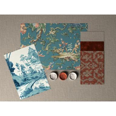 Chinese Garden Mood Board